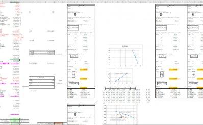 翅片换热器换热系数K值计算公式【附冷凝器、蒸发器EXCEL计算表格】